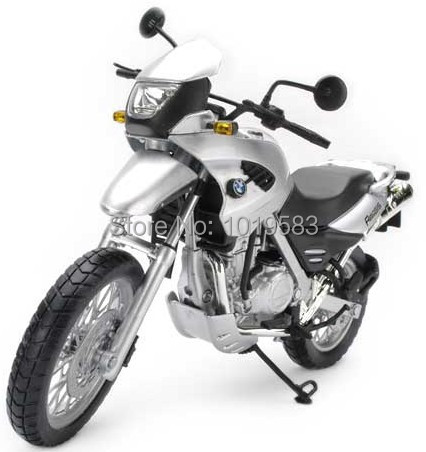 Free Shipping (5pcs/pack) Wholesale 1/12 Scale Diecast Motorcycle Model Toys F650GS Sliver Metal Motorbike Model Toy(China (Mainland))