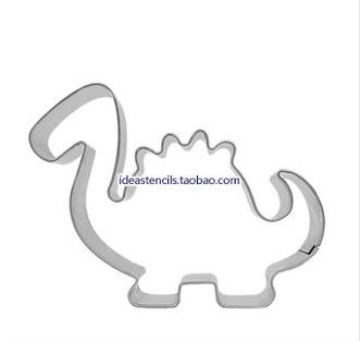 Stainless steel mousse ring Pineapple cakes biscuits die cookie cutter mold Cartoon dragon Jurassic dinosaurs HMC007 - Best Wall store