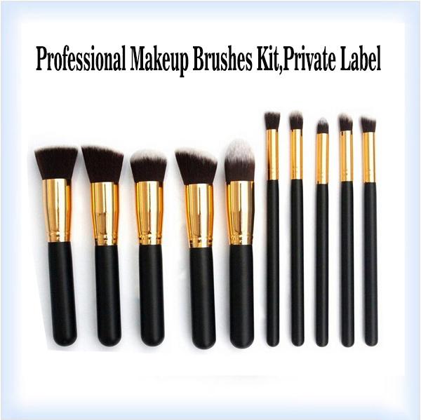 Free Shipping!OEM powder brush makeup kit,overstock makeup brush kit,overstock powder brushes kit,Makeup suppliers china(China (Mainland))
