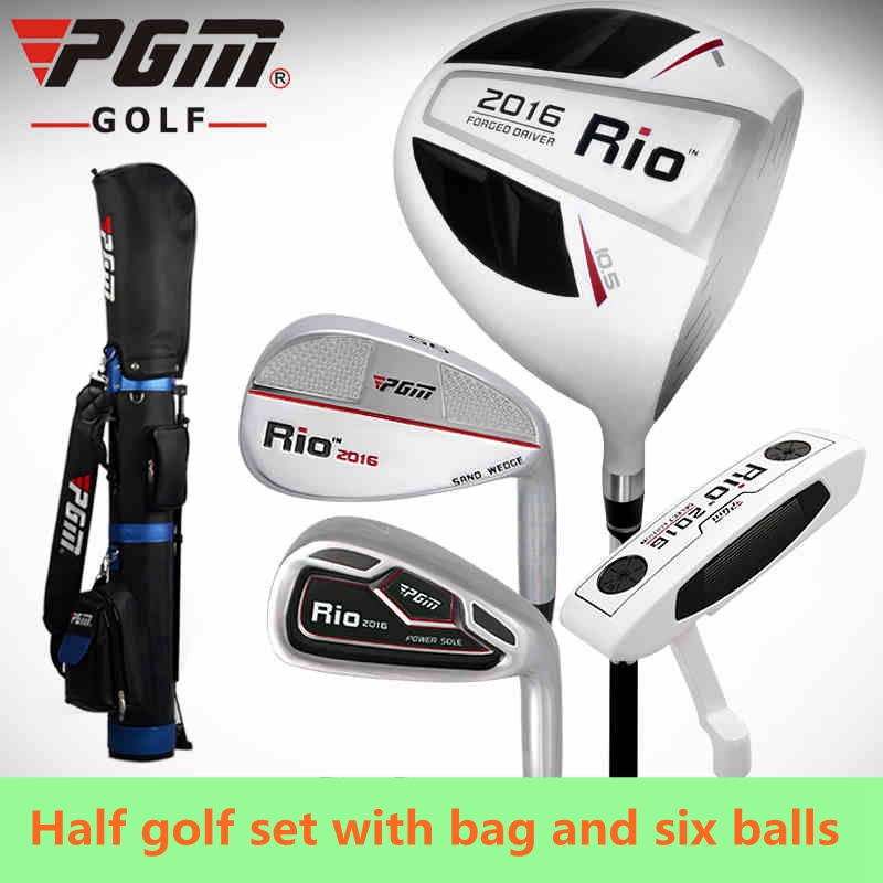 PGM 4-pieces Half Golf Clubs Set With Bag for Leaner beginner. Carbon shaft of clubs. PGM is Top-selling Golf Brand in China(China (Mainland))