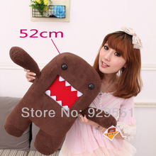 Funny soft plush stuffed animal doll,unique toy cute Domo Kun anime for girl kids,child;special birthday gift,present,brinquedos(China (Mainland))
