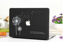 Fast shipping  PC Material Dandelion  Laptop  Sleeves Covers Cases For Macbook Air 11 13 Pro 13 15 Retina 13 15 GW-MB5(China (Mainland))