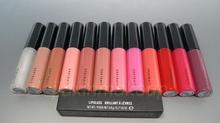 New Arrivel Brand makeup lipgloss ! LIPGLASS BRILLANT A LEVRES 4.8g 12 different color lip gloss ( 12pcs/lot)(China (Mainland))