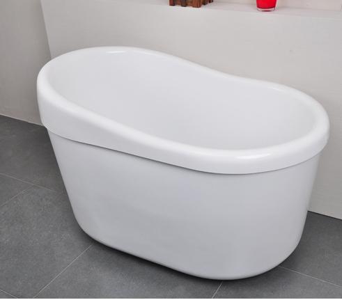 Petite baignoire autoportante en acrylique isolation for Petites baignoires