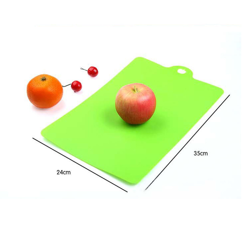 Amazing Light Weight Durable Cutting Board Plastic Colored Chopping Board Set Flexible Kitchen Board #69839(China (Mainland))