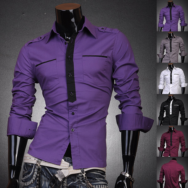 Buy 2016 new men 39 s hot sale fashion for Mens business shirts sale