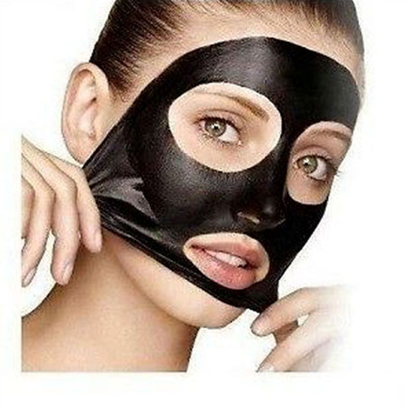 1pcsAcne Treatment charcoal Blackhead face Mask Skin care Rapid penetration deep cleansing Mineral Composition Tearing style(China (Mainland))