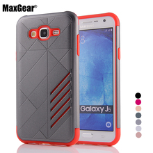 Fashion Hybrid Shockproof Phone Shell Samsung Galaxy J2 J3 J5 J7 J500 J700 2015 Hard PC TPU Back Cover Case Capa - MaxGear official Store store