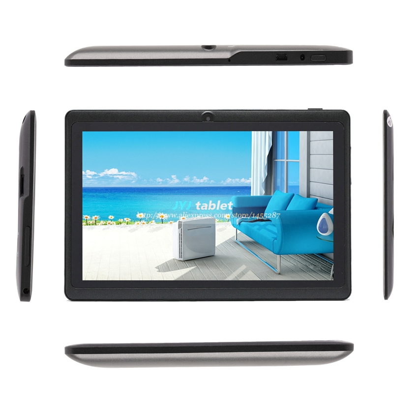 Free shipping Allwinner A23 Dual Core Google Android 4.2 8GB Rom 512MB Ram Dual cameras WiFi 1.5GHz pc tablet 7 inch(China (Mainland))