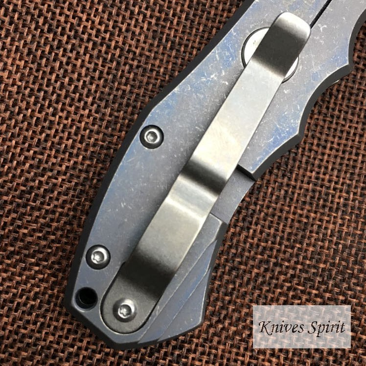 Buy New Rad Folding Blade Knife Real S35VN Blade Titanium Handle Utility Tactical Pocket Survival Hunting EDC Tools Camping Knife cheap