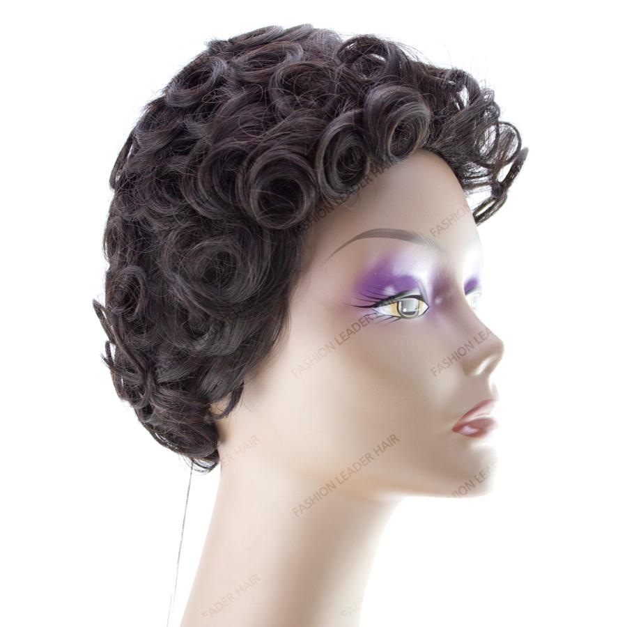 Dye Human Hair Wig 64