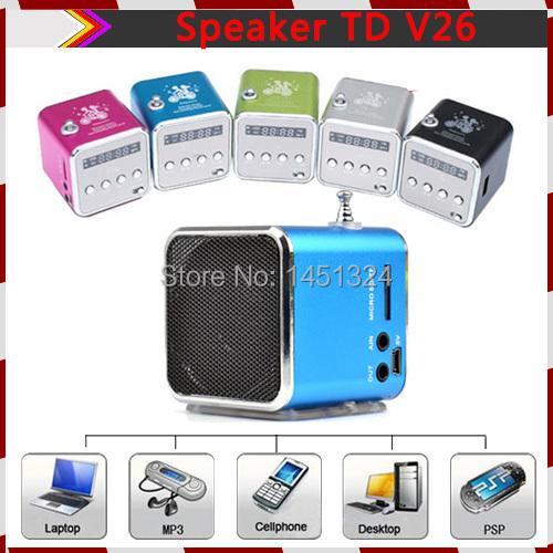 Аудио колонка Other USB, TF MP3 FM TD V26 TD-V26 golf 3 td 2011