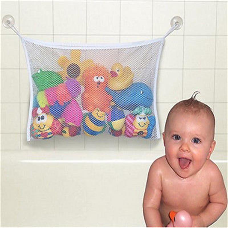 Kids Baby Bath Tub Toy Bag Hanging Organizer Storage Bag Large <br><br>Aliexpress
