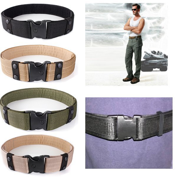 New Tactical Outdoor Hunting Security SWAT Duty Utility Waist Belt(China (Mainland))
