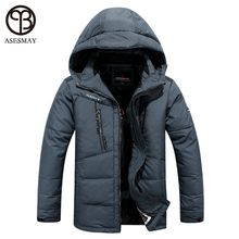 asesmay winter jacket men 2016 brand clothing parka men thick down jacket men coat winter jacket goose feather winter parka(China (Mainland))