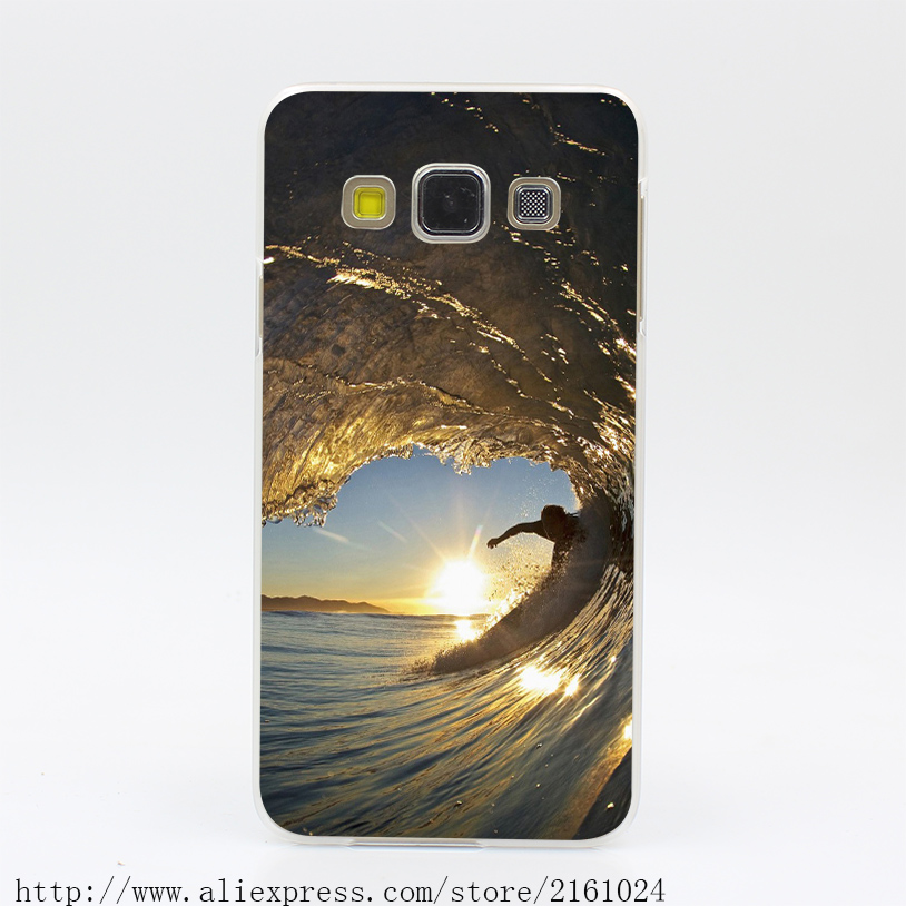 1320U Surfboard Wave Hard Case Cover for Galaxy A3 A5 7 8 J5 7 Note 2 3 4 5 Grand 2 & Prime(China (Mainland))