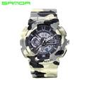SANDA Men Sports Watches Waterproof Fashion Casual Quartz Watch Digital Analog Military Men s Sports Watches