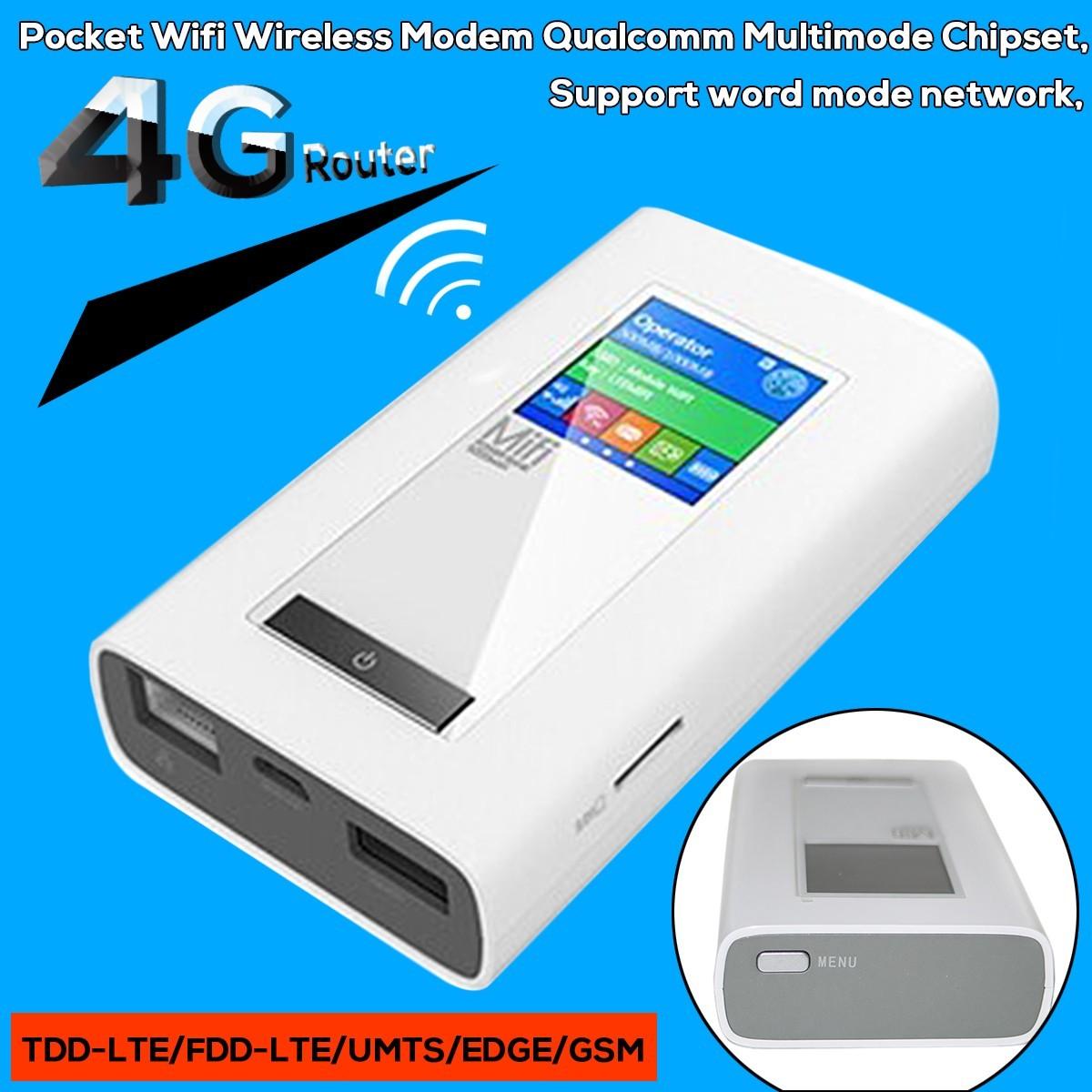 10pcs Unlocked Multimode 100Mbps 4G LTE FDD Wireless Wifi Router UMTS EDGE GSM TDD-LTE Pocket Wi fi Mobile Hotspot RJ45 Port<br><br>Aliexpress