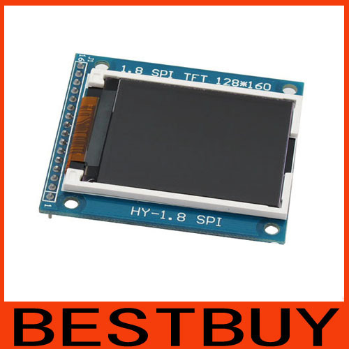 1.8 inch 1.8inch 128X160 Serial SPI TFT Color LCD module display PCB compatible 1602 /SD Card/ . order>=6pcs,price 4.2USD/pcs - 33$ cut 2$,66 4--Sofe store