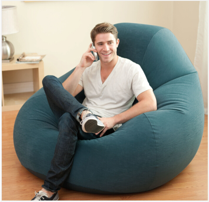 Set living room furniture lazy inflatable sofa chair in living room