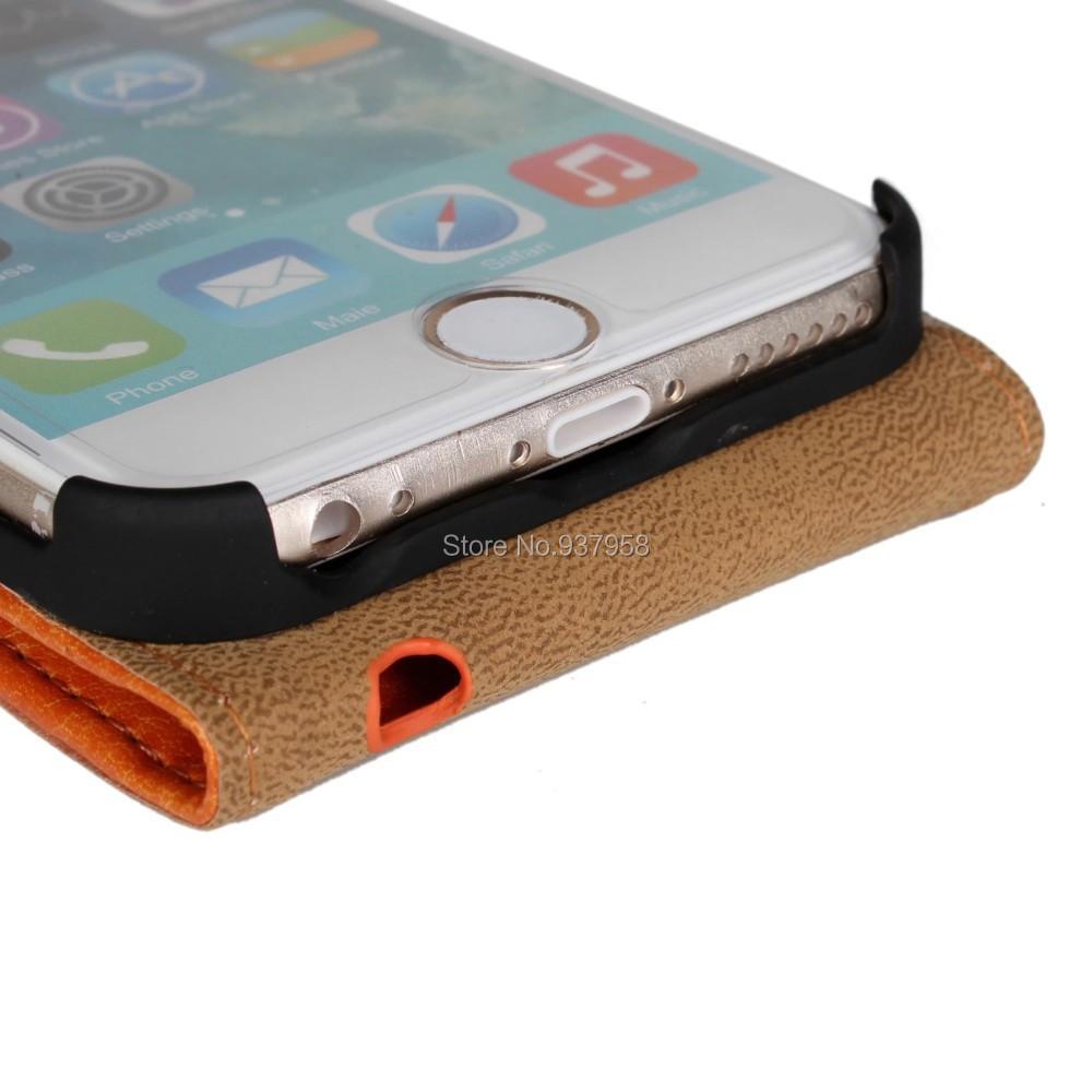 Case para iphone 6 5 5 pulgadas vertical del tir n del for Fuera de serie telefono
