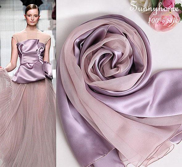 Dachshund Fourrure Acne Scarf Ladies Scarfs 100% Satin Silk Fashion Purple Headband winter Pashmina Women Scarves and Shawls(China (Mainland))