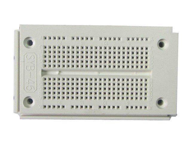 SYB-46  9.05CM*5.26CM*0.86CM, Universal Solderless board, 270 Tie-point, breadboard, testboard, Jjump wire available  10pcs/lot