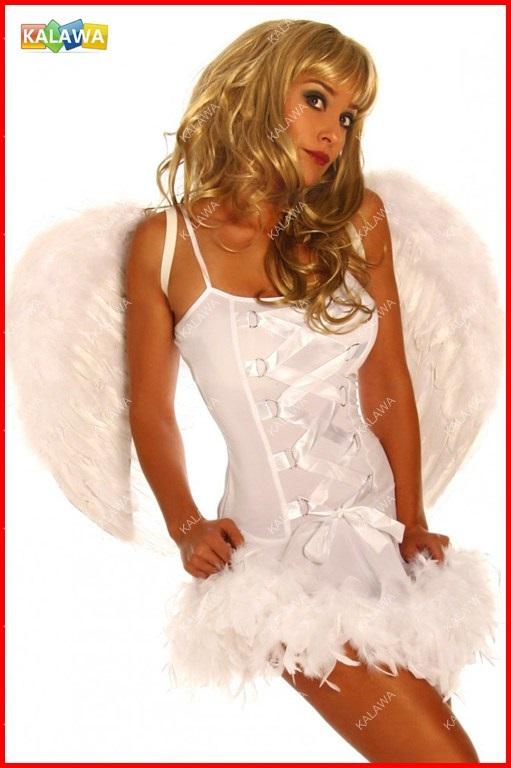High quality sexy Lingerie Erotic Angel Costumes Girls/Women's fashion Fetish YSS14-1335W FREESHIPPING^GGG(China (Mainland))