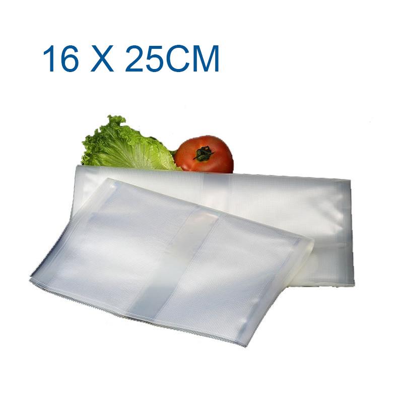 16*25cm vacuum bags for food Storage FOR Vacuum Sealer Saver packaging bags vacuum bag with 50PCS