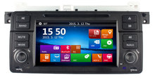 """7"""" HD Touch Screen Car DVD Player GPS Navigation for BMW E46 3 Series M3 GPS Bluetooth Radio  USB IPOD Steering wheel Free Map(China (Mainland))"""
