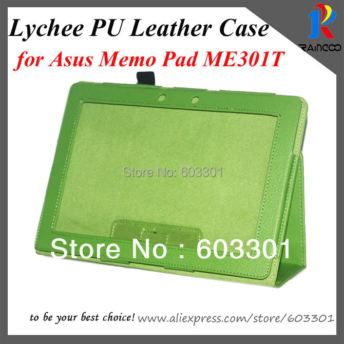 Asus Memo Pad Smart ME301T PU leather stand case, Leather - Raincoo Industrial Company Limited store