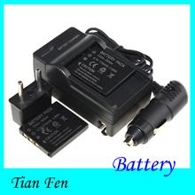 Горячая 3.7 В + автомобильное зарядное устройство + зарядное устройство CGA-S004 CGA S004 CGAS004 аккумуляторная литий-ионный аккумулятор для Panasonic