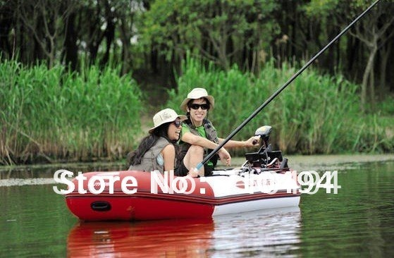 free DHL shipping JiLong CHEYENNE 400 inflatable motor boat, fishing boat paddle & pump cushion - Show You The Best store