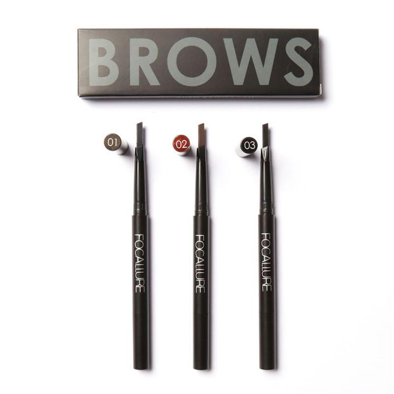 Waterproof Eye Liner Eyeliner Gel Makeup Eyebrown Cosmetic + Brush Makeup Beauty