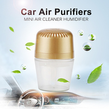 CE Approved Portable USB Car Air Purifiers 250ML Mini Air Cleaner Humidifier Water Wash Air Purifier Purificador De Aire KM-01LC(China (Mainland))