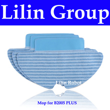 (For B2005 PLUS) Mop for Robot Vacuum Cleaner with Water Tank (Wet and Dry Mopping), 3pcs/pack(China (Mainland))