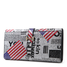 Brand Small Handbag New Arrival Mixed Colors Patchwork Genuine Leather Cluth Bag Women wallet fashion purse