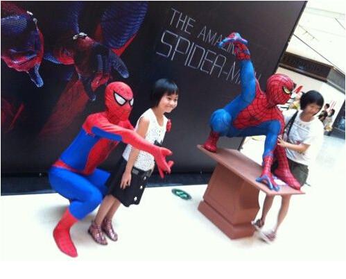 DB23580 Adult spiderman costume-8