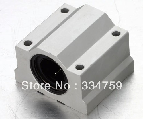Free Shipping 4x SC10UU SCS10UU Linear motion ball bearings slide block bushing for 10mm linear shaft guide rail CNC parts(China (Mainland))