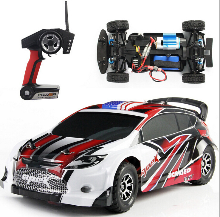 t l command 4wd 4 roues motrices rc racing voiture lectrique 1 18 chelle 50 km h 2 4 ghz. Black Bedroom Furniture Sets. Home Design Ideas