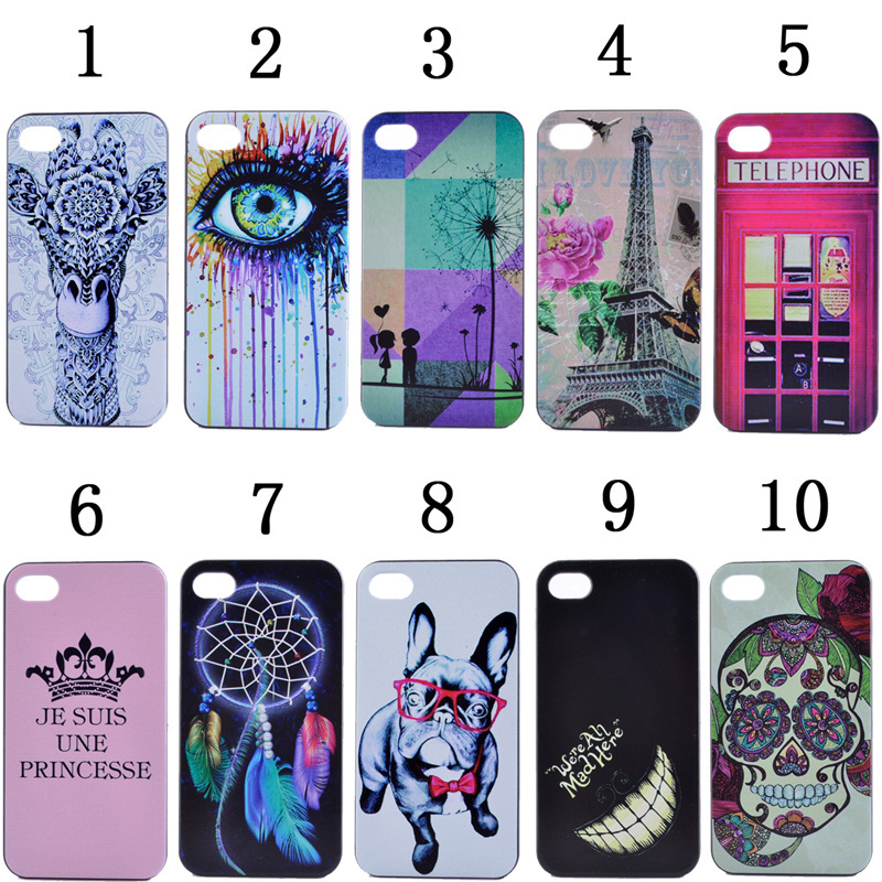 IPhone 5C Case Cover Dream Catcher Eiffel Tower Eye Hard Phone Plastic - lisa topseller's store