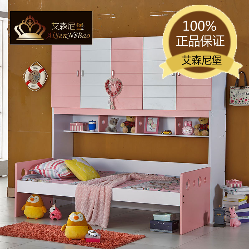 New limited edition children's furniture in combination wood picture on the level of the three-tier bunk bed(China (Mainland))