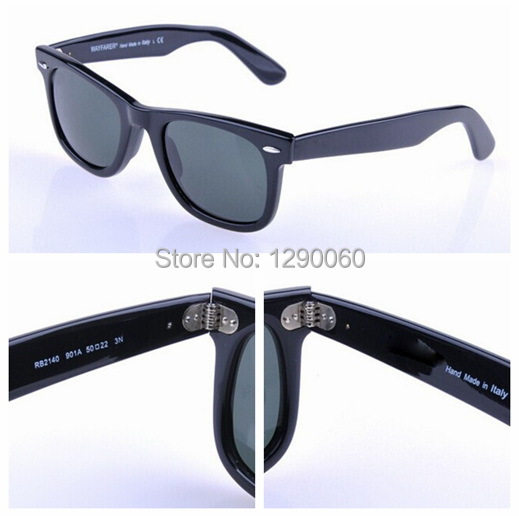 Brand Classic Vintage Retro RB 2140 Wayfarer Sunglass Metal Hinge style High quality sun glasses sunglasses women brand designer(China (Mainland))