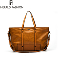 Herald Fashion Women Bag Ladies Brand PU Leather Handbags Spring Casual Tote Bag Big Shoulder Bags