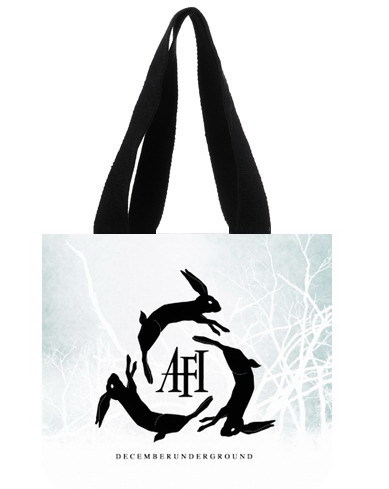2014 Classic Fashionbag American famous AFI Band Logo printed top quality cotton canvas Shopping Bags Eco- friendly Tote Bag(China (Mainland))