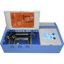 Hot Sale 1PC CO2 40W Laser Engraving Cutting Machine Engraver with go up and down function