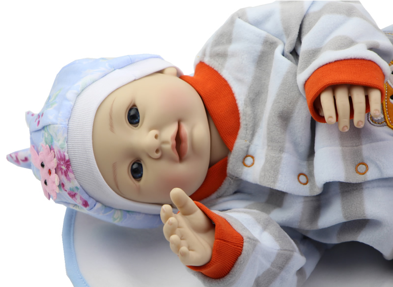 Silicone Reborn Babies Looks Like Real Baby  20inch  Reborn Toddler Doll Life Size Doll Baby Alive For Girl<br><br>Aliexpress