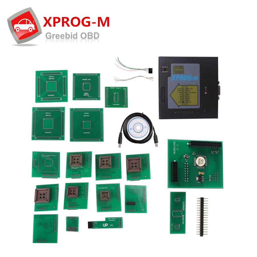 New Metal Model XPROG-M Xprog Xprog M Programmer V5.0 ECU Chip Tunning XPROG-M Programmer V5.0(Hong Kong)