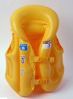 Free shipping Air-sac leak-proof child inflatable life vest 50 swimwear