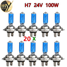 224V H7 100W Halogen Bulb Super Bright Fog Lights High Power Car Headlight Lamp Light Source parking White 6000K - Guang Zhou Hong Hui Technology co., LTD store